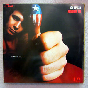 LP / DON McLEAN / AMERICAN PIE / 1979 / RARITÄT /