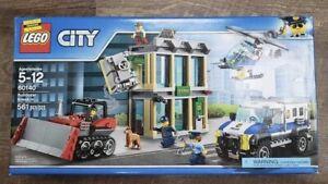 LEGO 60140 Bulldozer Break In NIB New In Box Retired Factory Sealed Police Bank