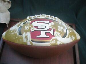 Vintage San Francisco 49ers special Joe Montana football