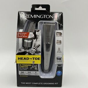 REMINGTON The Most Complete GROOMING KIT Nose Ear Hair Body Precision Trimmer
