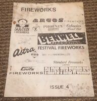 1983 Fireworks Pyrotechnics Publication Newsletter Issue 4