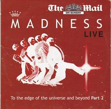 Madness Live to the edge of the Universe and Beyond part 2 (UK newspaper CD)