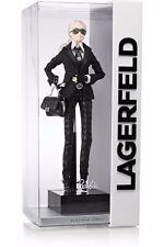 2014 Karl Lagerfeld Barbie Lagerfeld Platinum Label Designer Doll NEW HTF NRFB