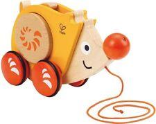 Enfant en bois de marcher le long de hérisson nouveau hape 12 mois + bois enfant jouet