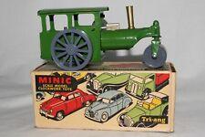 Triang Minic 594ms Vapore Roller Trattore con Scatola Originale, Carino