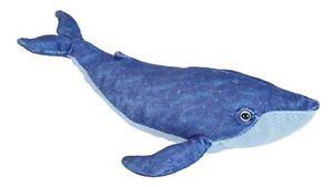 Wild Republic Blue Whale Cuddlekins [35cm] Soft Plush Stuffed Cuddly Toy NEW