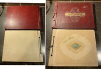 2 WWII Photo Albums-Hundreds Pics 1940s Fort Bragg, NC, SC, Kansas; Cars, Planes