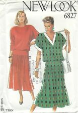 New Look 6827 Misses' Dresses 8 to 18 *Compare at $19*   Sewing Pattern