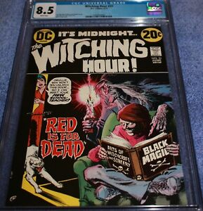 WITCHING HOUR #31 CGC 8.5 TOUGHEST ALL BLACK COVER. UNDERGRADE! 9.0-9.2