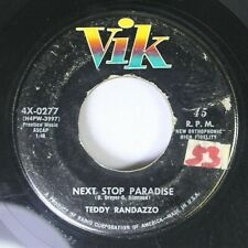 50'S / 60'S 45 Teddy Randazzo - Next Stop Paradise / How Could You Know? On Vik.