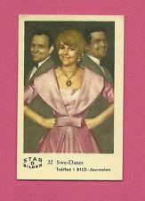 Swe Danes Vintage Movie Film Star Card from Sweden #D32