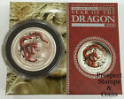 2012 Year of the Dragon 1/2oz Silver Coloured Australian Proof Coin