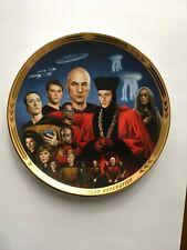 Star Trek The Next Generation plate Encounter at Farpoint Hamilton Plate