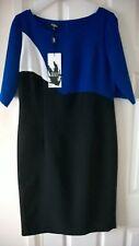 Ella Boo Royal Blue and Black colour Designer Dress