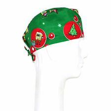 Spongebob Squarepants Christmas Theme Scrub Hat