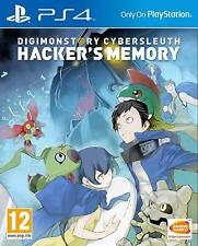 Digimon Story - Cyber Sleuth - Hackers Memory For PS4 (New & Sealed)