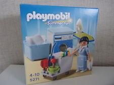 PLAYMOBIL Summer fun 5271 Nettoyage Service-NOUVEAU & NEUF dans sa boîte