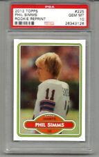 2012 Topps Rookie Reprint Phil Simms PSA 10