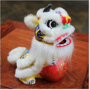 Lion Rolling Hydrangea Lion Dance Chinese Mascot Car Swing Desk Supply Toy Gift