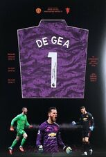 David de Gea hand signed Manchester United FC shirt