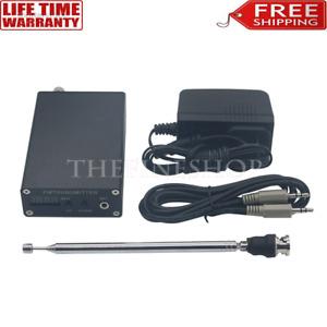 87-109MHz 1mW-5W PLL Stereo FM MP3 Transmitter Mini Radio Station Antenna Wire