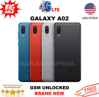 Samsung Galaxy A02 - 64GB (GSM Unlocked) 3GB RAM AT&T, T-Mobile, Metro PCS
