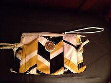 Gucci Black Ivory & Yellow Patent Leather & Suede Patchwork Hysteria Clutch