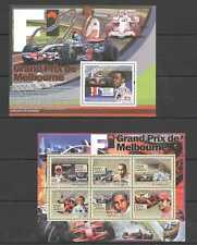 NS385 2008 GUINEA CARS AUTORACING FORMULA 1 F1 GRAND PRIX MELBOURNE KB+BL MNH