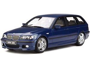 BMW e46 330i Touring M Pack mysticblue véhicule miniature OT251 Otto 1:18
