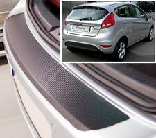 Ford Fiesta MK7 - Carbon Style rear Bumper Protector