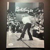Bobby Knight Signed Autographed 8x10 Photo JSA James Spence Throwing Chair Bob