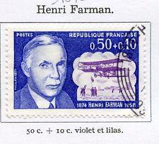 STAMP / TIMBRE FRANCE OBLITERE N° 1670 HENRI FARMAN