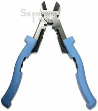 "8""  Wire or Cable Cutter Pliers Multi-Purpose Electrical Crimping Stripping Tool"