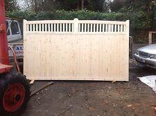 wooden driveway gate  6ft h x 14 ft w village(slider) gate