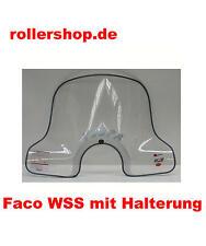 Windschild 50 cm Vespa GTS 125, 250, 300 ccm mit ABE