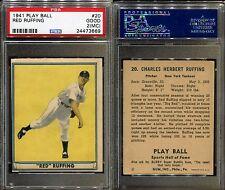 1941 PLAY BALL #20 RED RUFFING PSA 2 MC (3669)