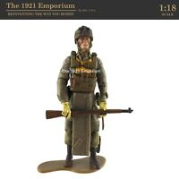 ☆ 1:18 21st Century Toys Ultimate Soldier WWII US Army 82nd Airborne Figure