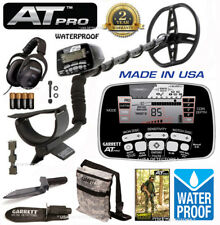 GARRETT AT PRO Metal Detector With  Camo Pouch, Edge Digger & MS-2 Headphones