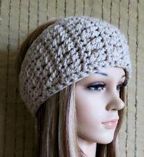 Crocheted Headband, Boho Headband, Chunky Ear Warmer