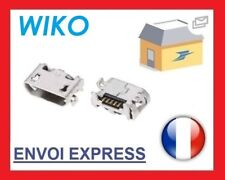 ORIGINAL Clavija Femenino Conector de carga Micro USB para Wiko JERRY