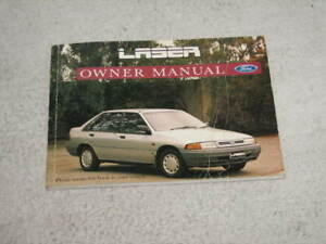 FORD 1990 KF LASER GL OWNERS MANUAL
