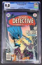 Detective Comics #464 CGC 9.0  10/76 2123769002 - Calculator appearance