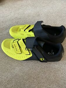 New!!! Pearl iZUMi Cycling Shoes Mens Size 46
