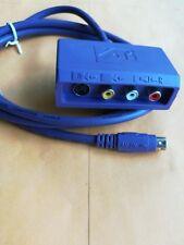 ATI Purple RCA Audio Video S-Video Input Adapter