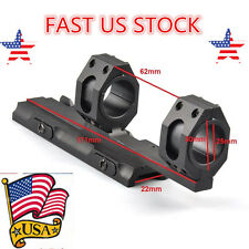 US 25mm-30mm Ring Cantilever Scope Quick Detach Mount QD Lock 20mm Weaver Rail