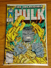 INCREDIBLE HULK #343 VOL1 MARVEL COMICS MCFARLANE MAY 1988