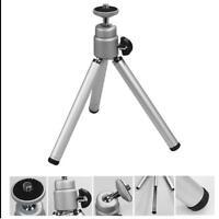 Universal Mini Tripod Stand for Canon Camera Nikon Digital Webcam Camcorder Silv