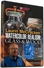 WATERCOLOR REALISM: GLASS & WOOD WITH LAURIN MCCRACKEN - Art Education DVD