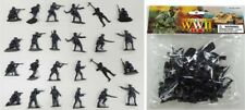 World War II German Infantry Bagged Playset - 24 Gray Soldiers 1/32 AIRFIX POSES