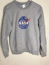 NASA Sweatshirt Van Gogh Starry Night Heather Grey Size Small